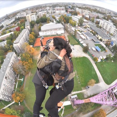 Bungee Jumping in Poland