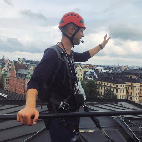Stockholm Secrets: Rooftop tour