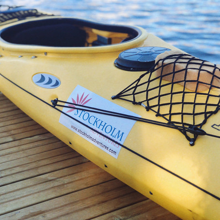 Experience Stockholm: Kayaking in the city