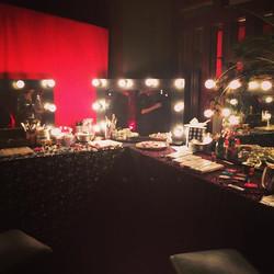 Set up for Barmitzvah