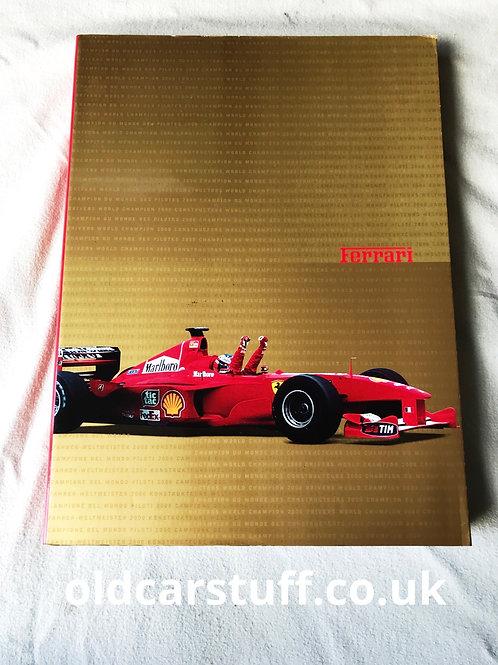 Ferrari Officila F1 Yearbook 2000
