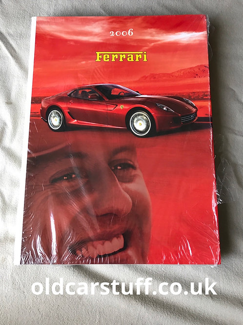 Ferrari F1 Yearbook 2006 Schumacher