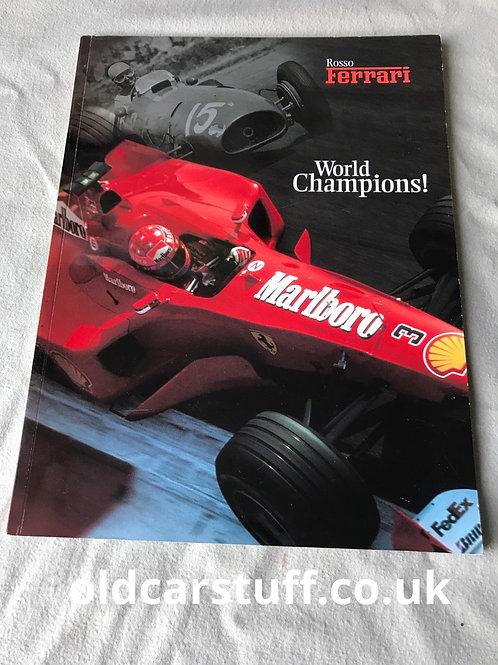 Rosso Ferrari US Magazine 2000