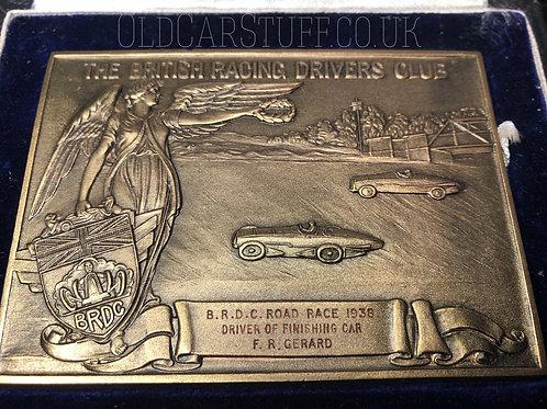 Bob Gerard Brooklands BRDC Racing Driver award