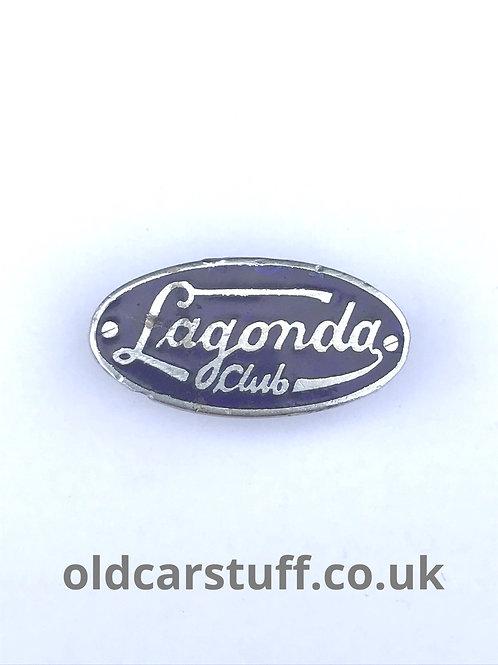 Lagonda Car Club Pin Badge