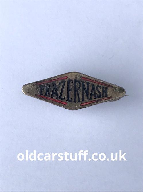 Frazer Nash enamel car pin badge