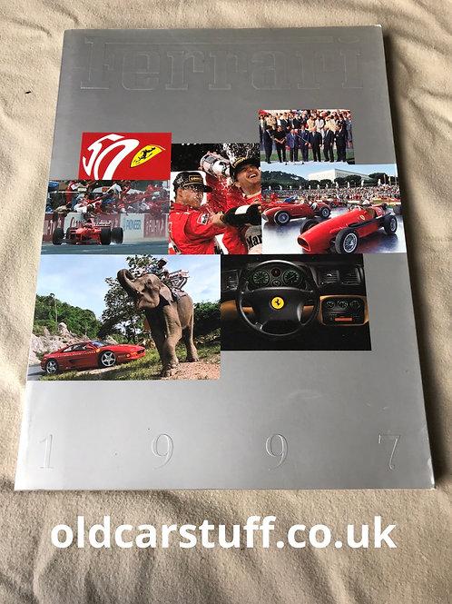 1997 Ferrari Yearbook Formula1 F1
