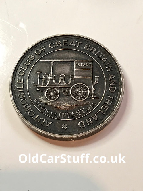 1905 Automobile Club Award Medal Blackpool