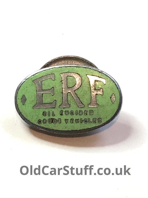 vintage ERF enamel badge