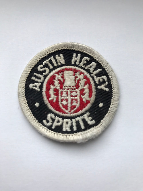 Austin Healey Sprite Sew on Badge