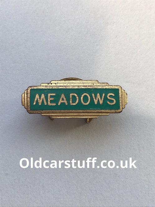 Meadows Engine enamel badge