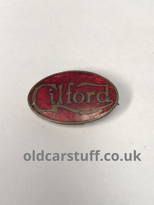 Gilford enamel pin lapel badge commercial Butler