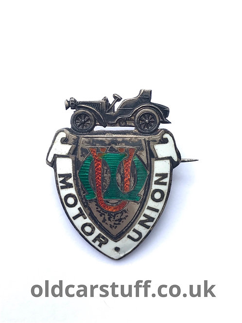 Rare Motor Union Enamel Pin Badge Birmingham