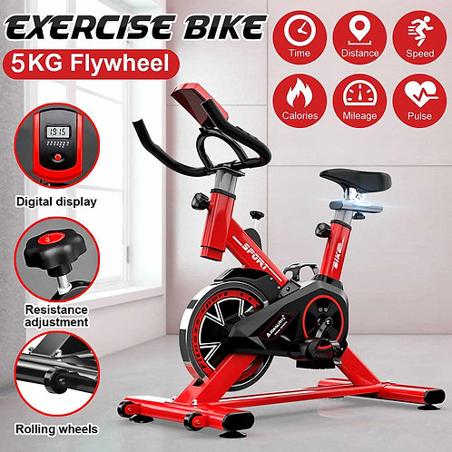 OrthoRegen® Ultra-Quiet Home/Indoor Exercise Bike