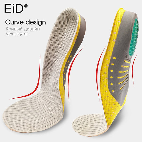 EiD PVC Orthopaedic Insoles Arch Support
