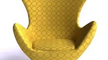 Der Egg - Chair ist ein wunderbarer zeitloser Klassiker