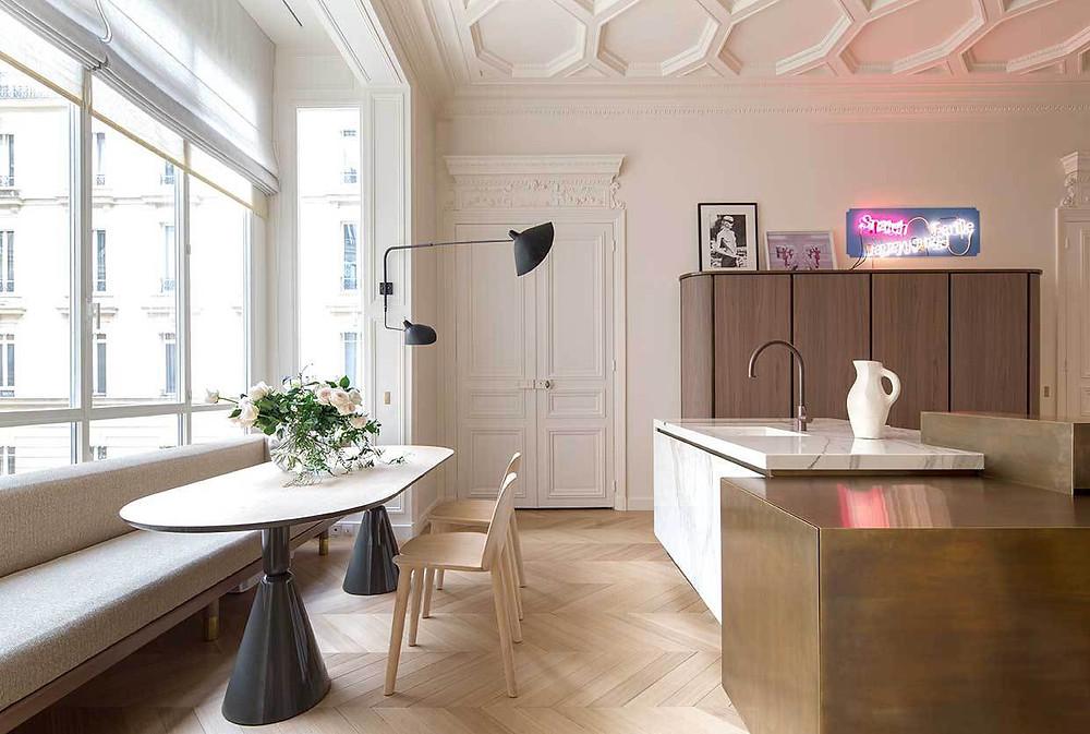 kitchen light and wonderful window scenery