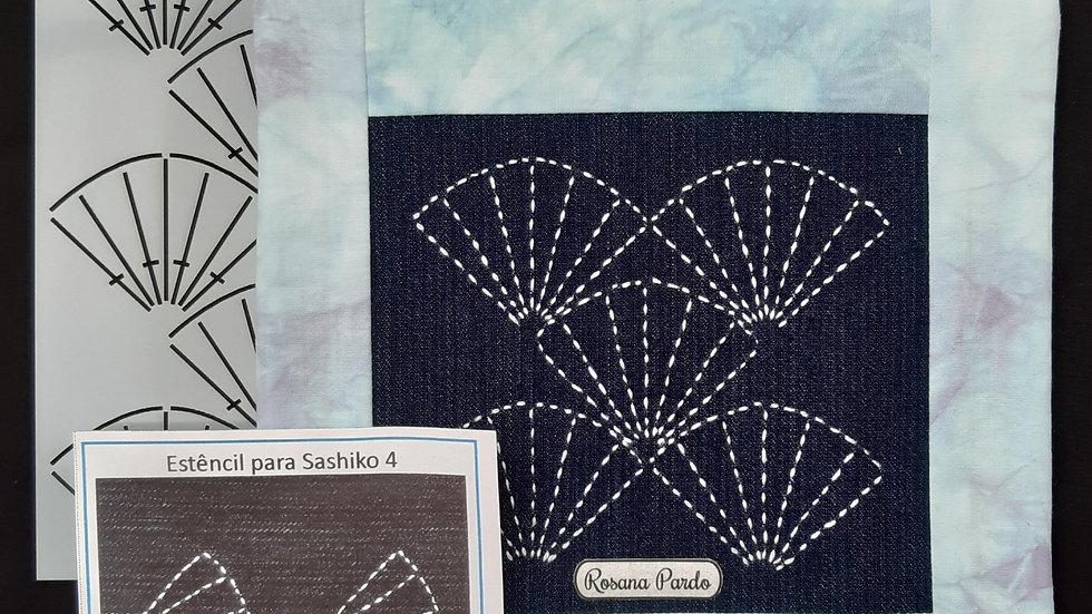 Estêncil para Sashiko n⁰4