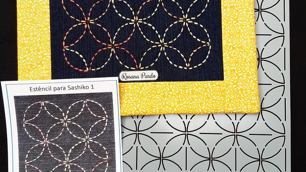 Estêncil para Sashiko n⁰1