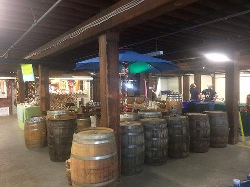 Oak Bourbon Whiskey Barrel (Sales)