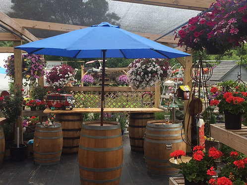 Market Umbrella Barrel (Rentals)