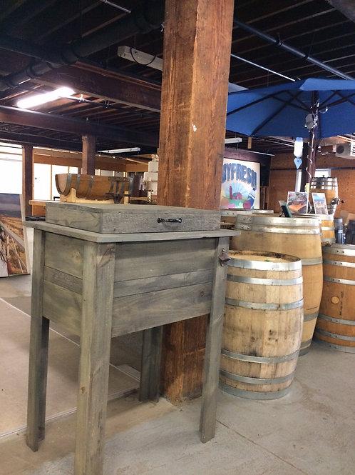 Rustic Wood Ice Box Cooler (Rentals)