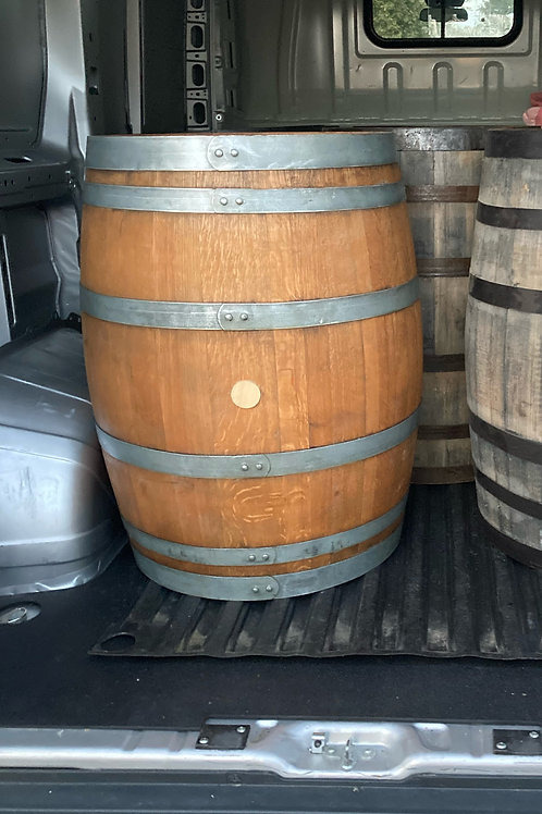 Refinished authentic wine barrels for sale