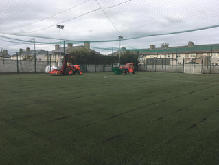 Hubert Fuller Park Pitch Upgrading, East Wall