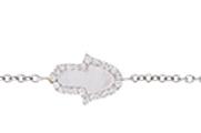 Bracelet Main Or B / Nacre