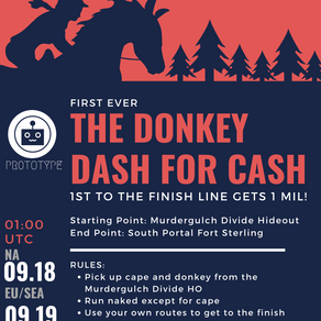 First Ever Donkey Dash for Cash