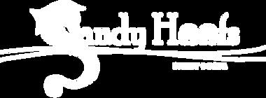 sandy hoofs logo for horseback riding in st. lucia