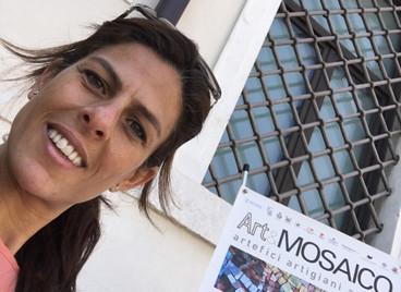 Mosaic Festival in Spilimbergo, Italy.