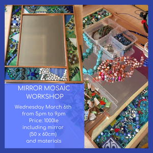 Launching the New Mirror Mosaic Workshops!