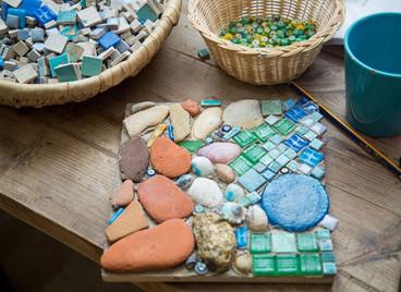 Story-telling Mosaic Workshop at Ardi, Dahshur.