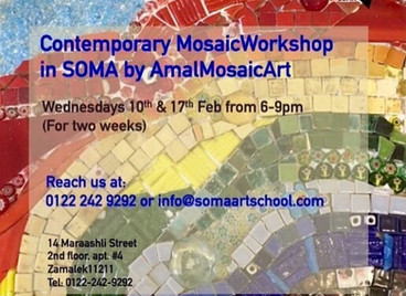 SOMA Abstract Mosaic Workshop.