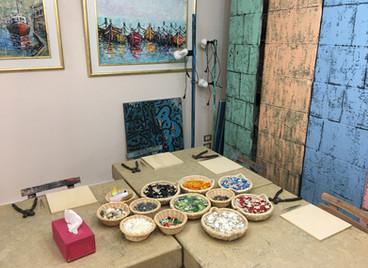 Art Café Abstract Mosaics Workshop