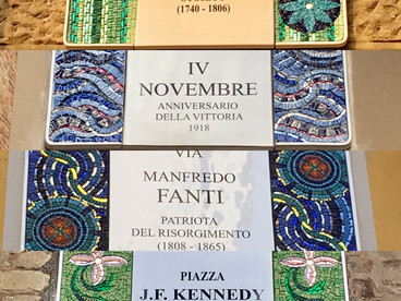 2017 International Mosaic Festival in Ravenna, Italy.