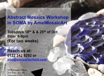 SOMA Abstract Mosaic Workshop