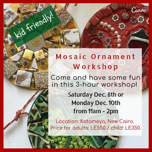 Mosaic Ornament Workshops