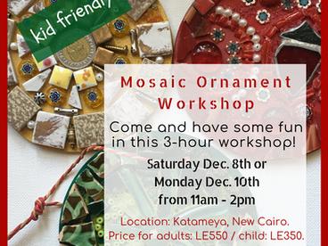 Mosaic Ornament Workshops