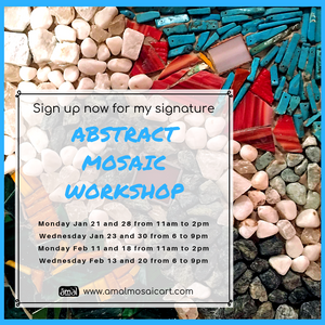 My Abstract Mosaic Workshop Is Back!