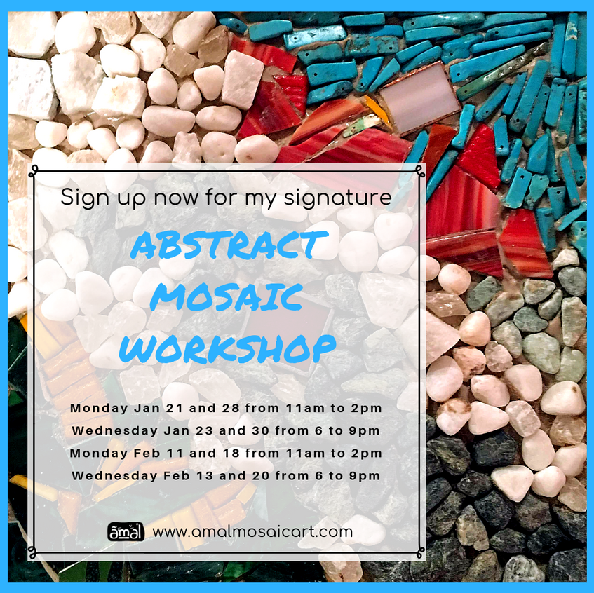 Abstract Mosaics Flyer1 - Feb 2019