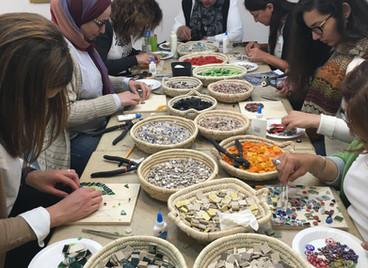 Art Café Abstract Mosaic Workshop