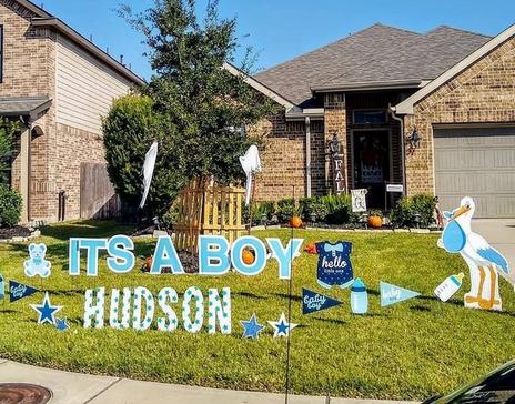 gender reveal  katy texas yard signs.PNG