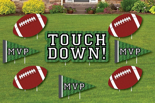 Football Theme Yard Signs