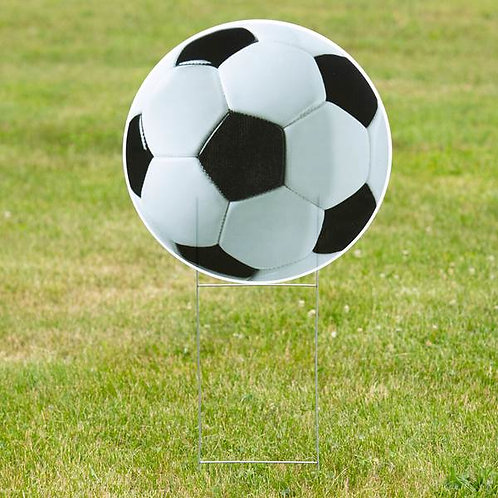 1 FT 10in Soccer Ball Yard Sign