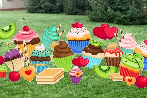 Cupcakes & Treats Theme