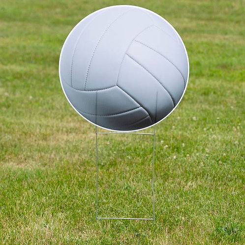 1 ft. 10 in. Volleyball Yard Sign