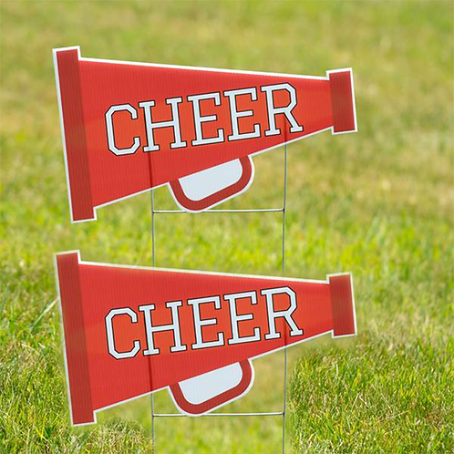 Cheer Yard Signs