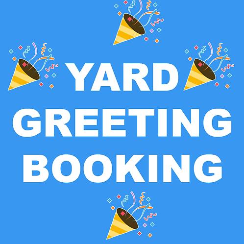 Yard Greeting